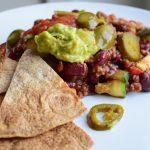 Mexicaanse schotel met tortilla chips