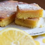 Vegan lemon bars