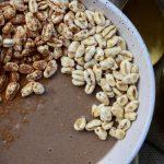 Cappuccino ontbijtbowl (eiwitrijk en vegan)